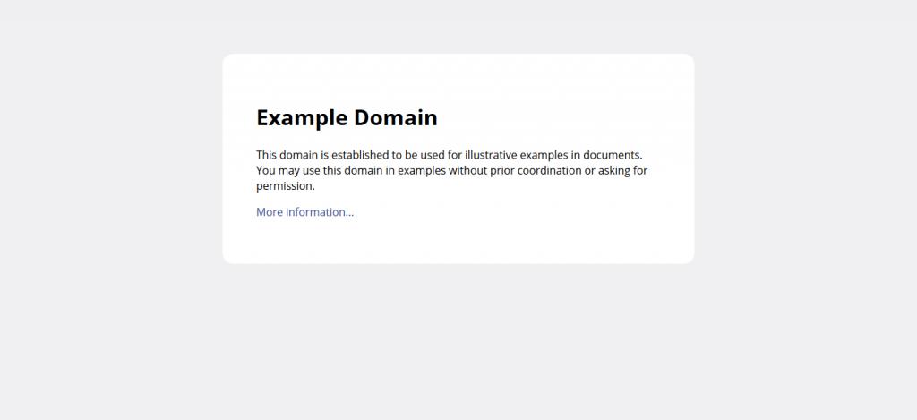 exampledotcom